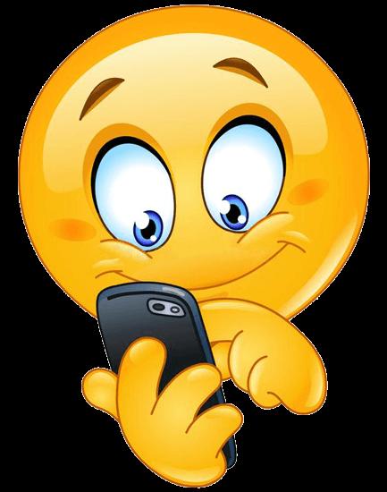 smiley smartphone